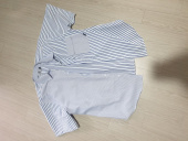 어반스터프(URBANSTOFF) USF Asymmetry Stripe Half Shirts Blue 후기