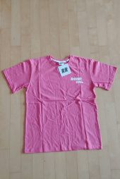 론론(RONRON) Outline regular fit T-shirts cherry pink 후기