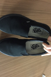 반스(VANS) 클래식 슬립온 / VN-0EYEBKA / CLASSIC SLIP-ON BLACK 후기