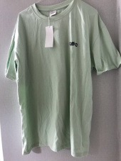 챈스챈스(CHANCECHANCE) MINI CEC T-SHIRT(MINT) 후기