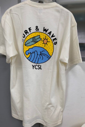에스피오나지(ESPIONAGE) Surf And Waves T-Shirt Ivory 후기
