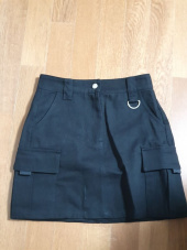 하이스쿨디스코(HIGH SCHOOL DISCO) Cargo Skirt_black 후기