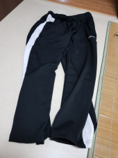 크로스커렌트(CROSSCURRENT) CCT Side Line Training Pants - BLACK 후기