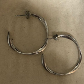 이오유스튜디오(EOU STUDIO) Sunrise earring_Silver 후기