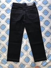 가먼트레이블(GARMENT LABLE) [2차 리오더]Garment Worker Ordinary Jeans / Tapered (Dark Blue) 후기