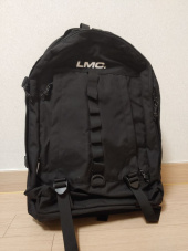 엘엠씨(LMC) LMC SYSTEM UTILITY BACKPACK black 후기