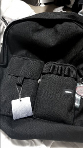 마크엠(MARKM) MM MULTI POCKET BACKPACK  black 후기