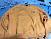 마크 곤잘레스(MARK GONZALES) MG x CHARM`S CIRCLE CREWNECK YELLOW 후기