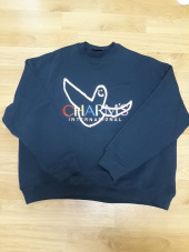 마크 곤잘레스(MARK GONZALES) MG x CHARM`S RAINBOW CREWNECK NAVY 후기