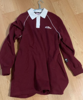 로라로라(ROLAROLA) (OP-19518) PIPING COLLAR ONE-PIECE WINE 후기