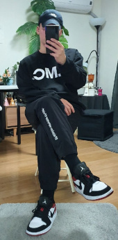 엘엠씨(LMC) LMC OG WHEEL SWEATSHIRT black 후기