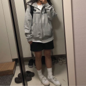 엘엠씨(LMC) LMC CAPITAL ZIP-UP HOODIE heather gray 후기