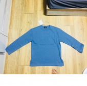 로맨틱 파이어리츠(ROMANTICPIRATES) DOUBLE COTTON SWEATSHIRT(BLUE GRAY) 후기