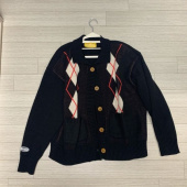 메인부스(MAINBOOTH) Argyle Cardigan(BLACK) 후기
