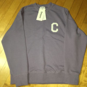 커버낫(COVERNAT) C LOGO CREWNECK BLACK 후기
