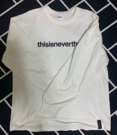 디스이즈네버댓(THISISNEVERTHAT) T-Logo L/SL Top Black 후기