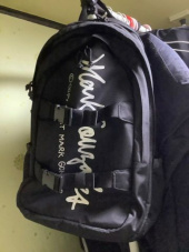 마크 곤잘레스(MARK GONZALES) M/G BIND BACKPACK BLACK 후기