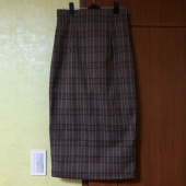 리올그(REORG) FIF BACK SLIT SKIRT CHECK 후기