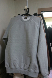 비디알(VDR) RAGLAN HEAVY SWEAT SHIRT [Indigo] 후기