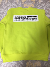 그루브라임(GROOVE RHYME) QUADRANGLE LOGO SWEAT SHIRTS (BLACK) [GMT504H43BKA] 후기