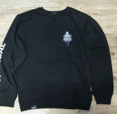 그루브라임(GROOVE RHYME) THUNDERBOLT LOGO  SWEAT SHIRTS (BLACK) [GMT509H43BKA] 후기