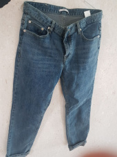 커렌트(CURRENT) CROP JEANS MEN [BLUE] 후기
