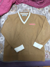 블론드나인(BLOND9) BASIC V NECK  KNIT SWEATER_BLUE 후기