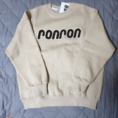 론론(RONRON) BOUCLE LOGO POINT SWEATSHIRT BEIGE 후기