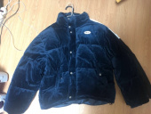 네스티팬시클럽(NASTY FANCY CLUB) [NF] FANCY VELOUR SHORT DOWN JACKET (NAVY) (19FW-F605) 후기