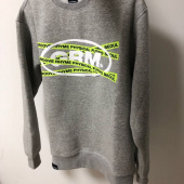 그루브라임(GROOVE RHYME) TRANSFORMED ELLIPSE LOGO SWEAT SHIRTS (GREY) [GMT502H43MG] 후기