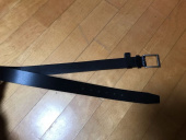 가먼트레이블(GARMENT LABLE) Square Leather Belt - Black 후기