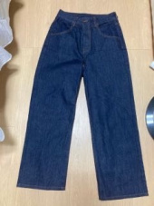 커버낫(COVERNAT) (WOMEN) HIGH WAIST DENIM PANTS INDIGO 후기