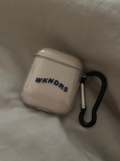 위캔더스(WKNDRS) WAVY AIRPOD CASE (WHITE) 후기