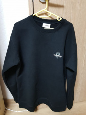 해피포인트(HAPPYPOINT) COVERNAT X BASKIN ROBBINS MINT CHOCO CREWNECK BLACK 후기