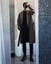 트립르센스(TRIP LE SENS) LE ROBE COAT_BROWN 후기