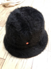 하이스쿨디스코(HIGH SCHOOL DISCO) H fur bucket hat_black 후기