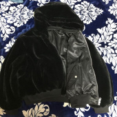 레이디 볼륨(LADY VOLUME) Reversible bear jacket_black 후기