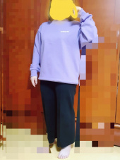 마하그리드(MAHAGRID) ORIGIN LOGO CREWNECK PURPLE(MG2ASMM480A) 후기
