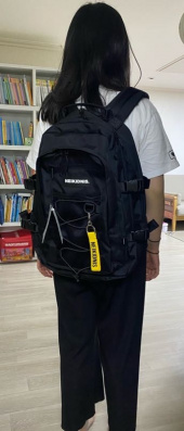 네이키드니스(NEIKIDNIS) MESH STRING BACKPACK / BLACK 후기