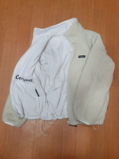 커버낫(COVERNAT) REVERSIBLE FLEECE ZIP-UP JACKET MINT 후기