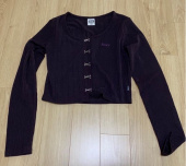 네스티팬시클럽(NASTY FANCY CLUB) [NF] FANCY HOOK DETAIL CARDIGAN (PURPLE)(20SS-F531) 후기