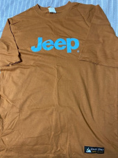 지프(JEEP) New Over Big Logo Half-Sleeves (GL2TSU093MG) 후기