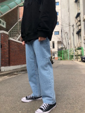 아울나인티원(OWL91) DAILY DENIM PANTS [BLUE]_FIT001 후기