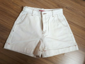 오아이오아이(OiOi) BACK POINT DENIM SHORTS_white 후기