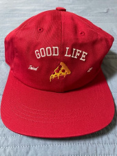로맨틱크라운(ROMANTIC CROWN) [PIZZAHUT X RMTCRW]GOOD LIFE BALL CAP_OATMEAL 후기