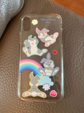 하이칙스(HIGH CHEEKS) Rainbow Thumper Clear Phonecase 후기