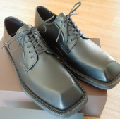 피렌체 아뜨리에(FIRENZE ATELIER) Wide Welt Volume Square Toe Derby Shoes 8420 [BLACK HFG] 후기