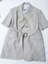 던스트 포 맨(DUNST FOR MAN) HALF-SLEEVES BELTED WOOL-LINEN JACKET BEIGE  UDJA0E211I2 후기