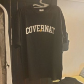 커버낫(COVERNAT) CXPEANUTS 70th ARCH LOGO TEE BLACK 후기