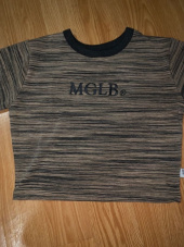 매치글로브(MATCHGLOBE) MG0S COLOR LINE CROP TEE (BLUE) 후기